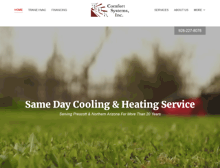 tdkcomfortsystems.com screenshot