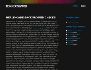 tdrrockwrd.webs.com screenshot