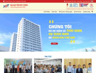 tdt.edu.vn screenshot