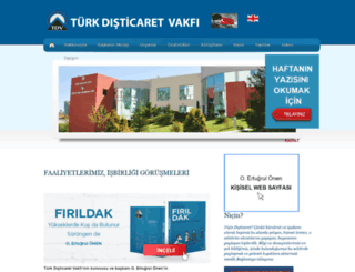 tdv.org.tr screenshot
