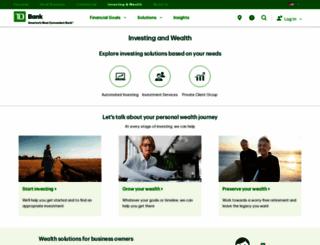 tdwaterhouse.com screenshot