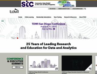 tdwi.org screenshot
