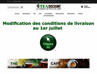 tea-discount.com screenshot