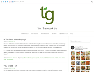 tea-guy.com screenshot