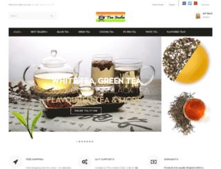 tea-india.in screenshot