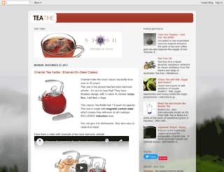 tea-time365.blogspot.com screenshot