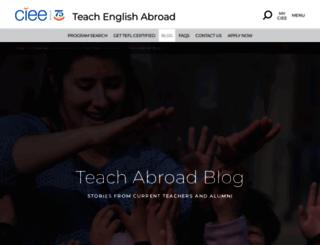 teach-english-abroad-blog-chile.ciee.org screenshot