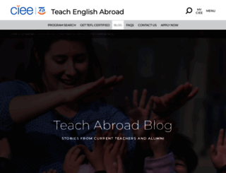 teach-english-abroad-blog-dominican-republic.ciee.org screenshot