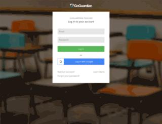 teacher-classtopia.goguardian.com screenshot