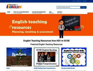 teacher-of-english.com screenshot