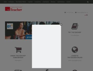 teacher.pl screenshot