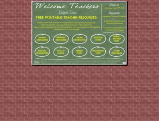 teacherprintables.net screenshot