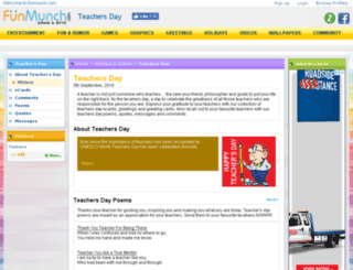teachers-day.funmunch.com screenshot