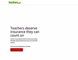 teachers.com screenshot