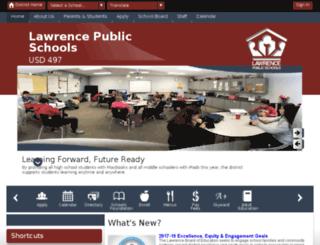 teachers.usd497.org screenshot