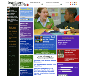 teachersnetwork.org screenshot