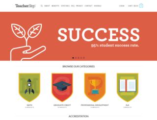 teacherstep.com screenshot
