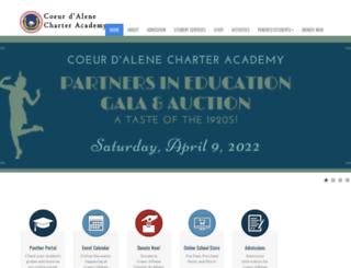 teacherweb.cdacharter.org screenshot