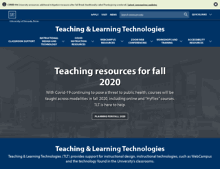 teaching.unr.edu screenshot