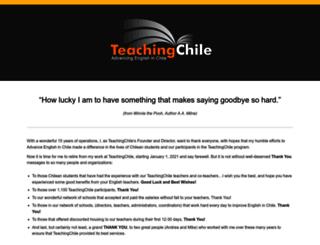 teachingchile.com screenshot