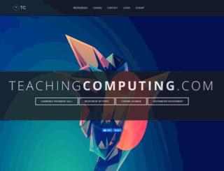 teachingcomputing.com screenshot