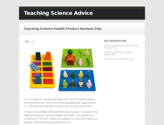 teachingscience20.com screenshot