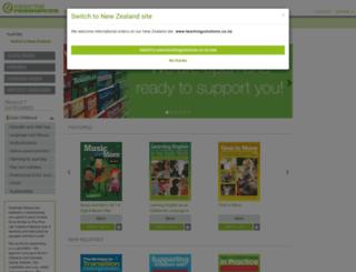 teachingsolutions.com.au screenshot