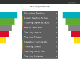 teachingtofish.net screenshot