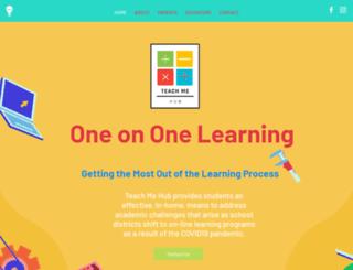 teachmehub.com screenshot
