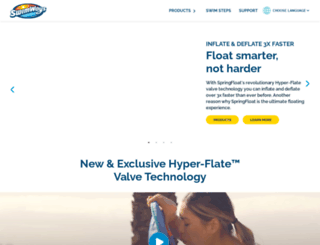 teachmetoswim.com screenshot
