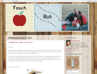 teachrunlove.blogspot.com screenshot