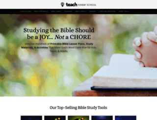 Mary Kate Warner Free Sunday School Lesson Plan at top