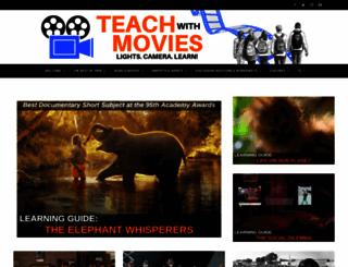 teachwithmovies.org screenshot