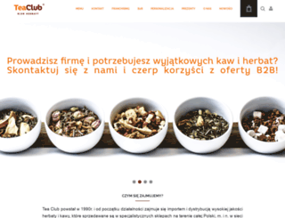 teaclub.pl screenshot