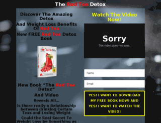 teadetox.co.uk screenshot