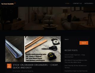 teagreenchandelier.com screenshot