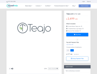 teajo.com screenshot