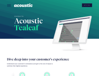 tealeaf.com screenshot