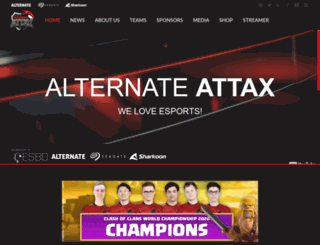 team-alternate.de screenshot