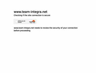 team-integra.net screenshot