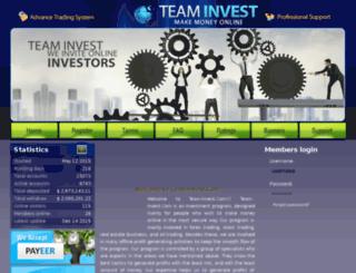 team-invest.com screenshot