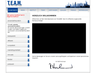 team-mafo.de screenshot