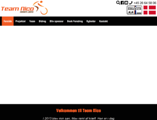 team-nico.dk screenshot