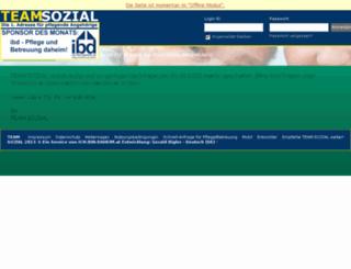 team-sozial.at screenshot