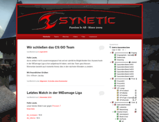 team-synetic.de screenshot