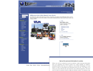 team-ulm.de screenshot