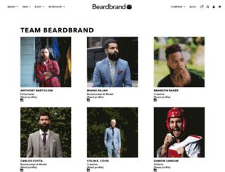 team.beardbrand.com screenshot