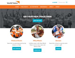 team.worldvision.org screenshot