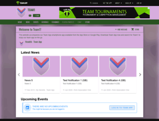 team1footballsoccer.teamapp.com screenshot