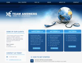 teamanswers.com screenshot